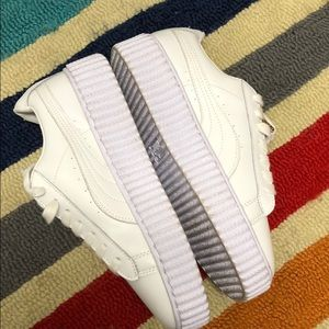 Puma Shoes - Rihanna x Puma Fenty Sneakers - Lavender/ White